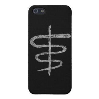 Ophiuchus El zodiaco firma adentro gris iPhone 5 Coberturas