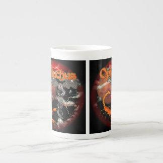 Ophiuchus goth zodiac sign by Valxart com Bone China Mugs