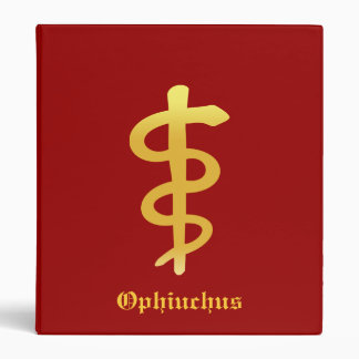 Ophiuchus (Nov. 29 - Dec. 17) Binder