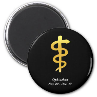 Ophiuchus (Nov. 29 - Dec. 17) Magnet