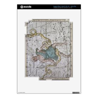 Ophiuchus o Serpentarius, 'de un atlas celestial iPad 3 Skin