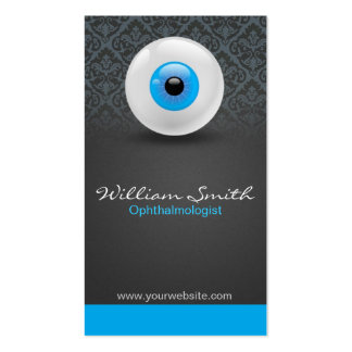 Ophthalmologist Double-Sided Standard Business Cards (Pack Of 100)