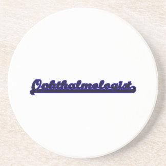 Ophthalmologist Classic Job Design Drink Coaster