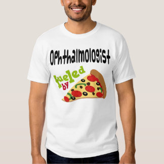 Ophthalmologist (Funny) Pizza T Shirt