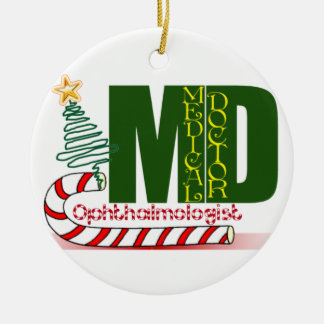 OPHTHALMOLOGIST MD CHRISTMAS ORNAMENT