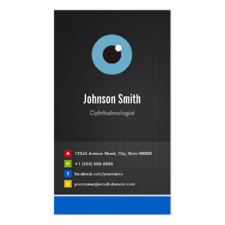 Ophthalmologist - Optical Creative Innovative Double-Sided Standard Business Cards (Pack Of 100)