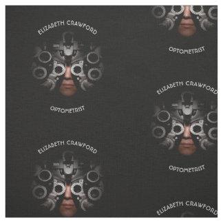 Ophthalmologist Optometrist Optician Test Vision Fabric