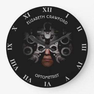 Ophthalmologist Optometrist Optician Test Vision Large Clock