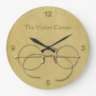 Ophthalmologist, Optometrist or Optician Large Clock