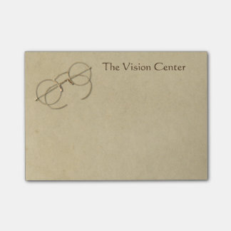 Ophthalmologist, Optometrist or Optician Practice Post-it® Notes