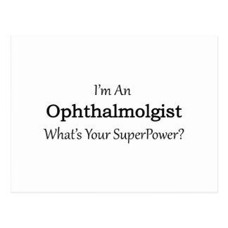 Ophthalmologist Postcard
