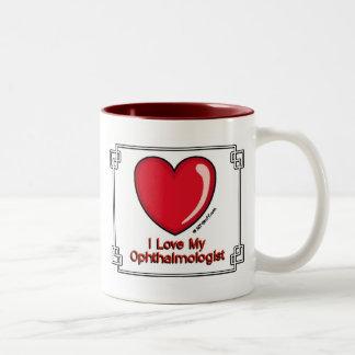 Ophthalmologist Two-Tone Coffee Mug