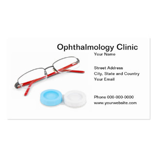 Ophthalmology Clinic Business Card