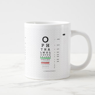 Ophthalmology Pearls Visual Acuity Jumbo Mug
