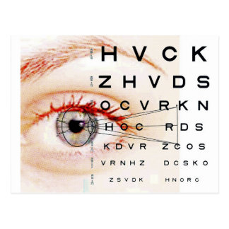 ophthalmology postcard