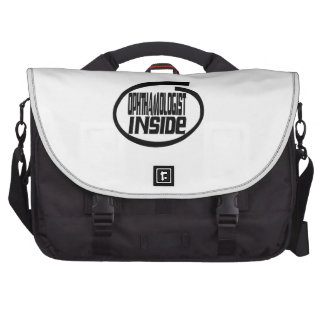 Ophthamologist Inside Laptop Bags