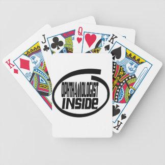 Ophthamologist Inside Card Decks