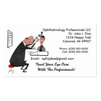 Ophthamology Eye Doctor Retro Style Business Card
