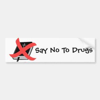 Opiate Religion Bumper Sticker