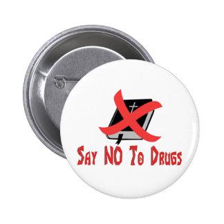 Opiate Religion Button