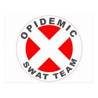 Opidemic SWAT Team Postcard