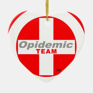Opidemic Team Ceramic Ornament