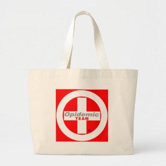 Opidemic Team Large Tote Bag