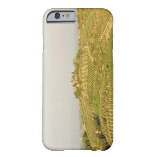 Opinião de ângulo alto de um vinhedo, província de barely there iPhone 6 case