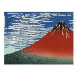 Opinión 02 del monte Fuji Tarjeta Postal