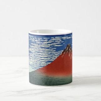 Opinión 02 del monte Fuji Taza
