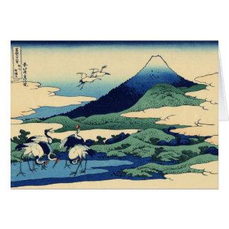 Opinión 31 del monte Fuji Tarjeta De Felicitación