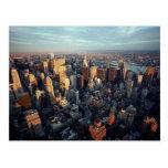 Opinión aérea Chrysler de New York City que constr Postal