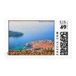 Opinión aérea de Dubrovnik Sello