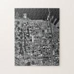 Opinión aérea de San Francisco Rompecabezas Con Fotos