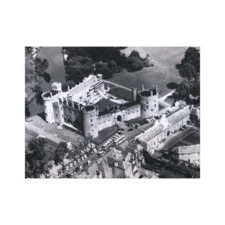 Opinión aérea del castillo de Kilkenny impresión