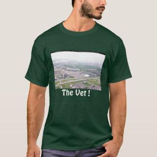 Opinión aérea del Veterans Stadium del PA de Playera