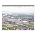 Opinión aérea del Veterans Stadium del PA de Tarjeta Postal