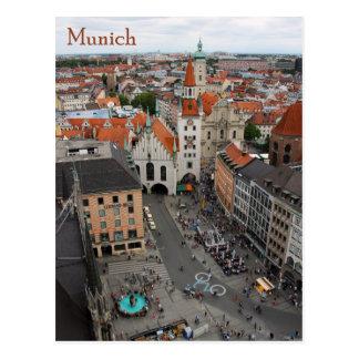 Opinión Altes Rathaus de Munich de Marienplatz Postal