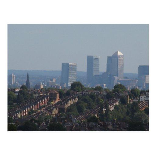 Opinión amarilla del muelle de Londres Postal