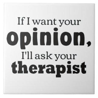 Opinion ask therapist ceramic tile