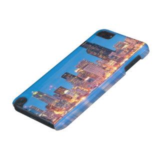 Opinión azul de la hora de Seattle céntrica Funda Para iPod Touch 5G