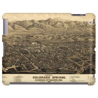 Opinión Colorado Springs, Colorado (1882) del ojo