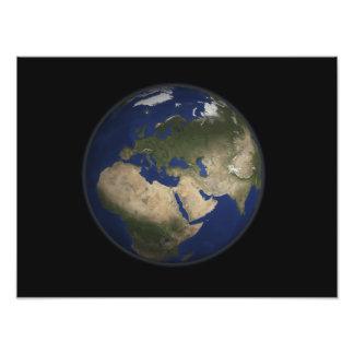 Opinión completa de la tierra de África, de Fotografías