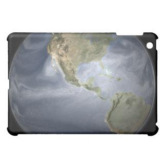 Opinión completa de la tierra que muestra el vapor