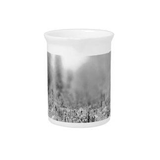 Opinión congelada invierno de la naturaleza jarrón