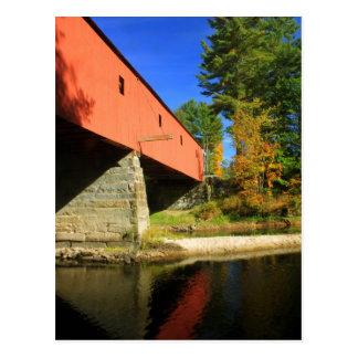 Opinión Cresson del río de Swanzey NH del puente Tarjetas Postales