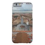 Opinión cuadrada de la Ciudad del Vaticano - St Funda De iPhone 6 Barely There