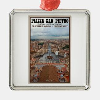 Opinión cuadrada de la Ciudad del Vaticano - St Pe Ornamentos De Reyes Magos