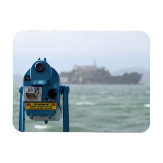 Opinión de Alcatraz Imán Foto Rectangular