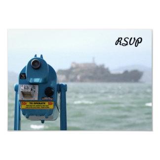 """Opinión de Alcatraz Invitación 3.5"""" X 5"""""""